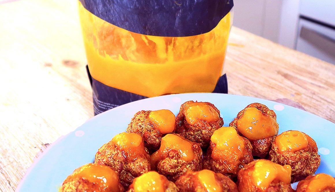 CEGS CHICKEN & MANGO CURRY BALLS