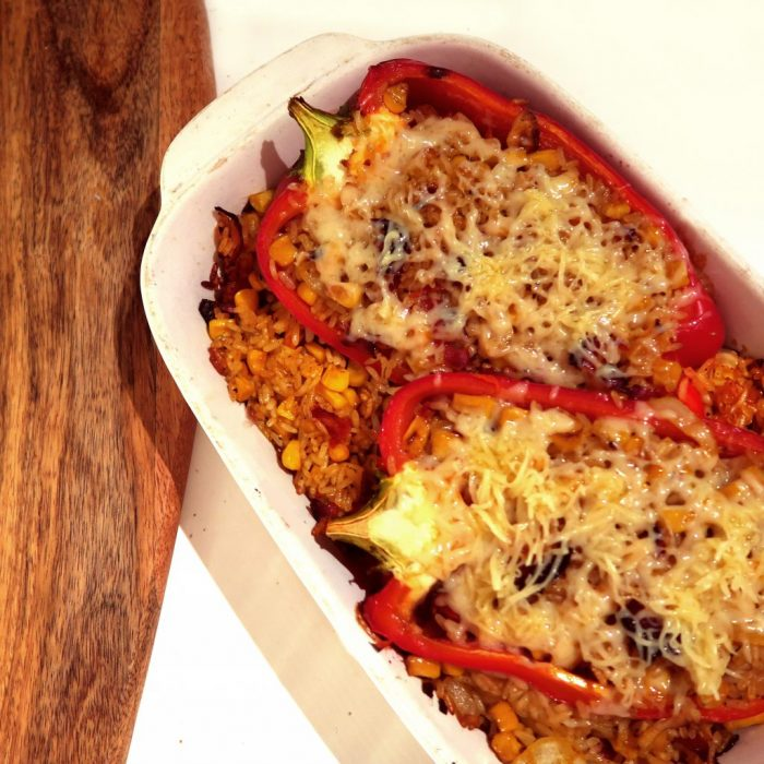 CEGS BAKED STUFFED PEPPERS